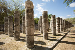 Ancient round columns Royalty Free Stock Images