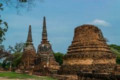 The Ancient Royal Palace in Ayutthaya Thailand Stock Image
