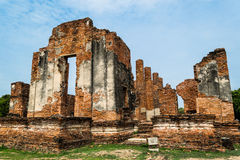 The Ancient Royal Palace in Ayutthaya Thailand Royalty Free Stock Image