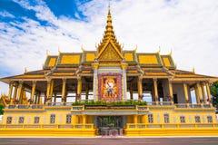 Ancient Royal Palace in Phnom Penh Royalty Free Stock Photo