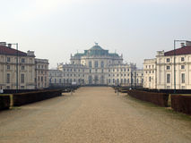 Ancient royal residence, Stupinigi Royalty Free Stock Image