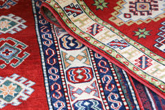 Ancient rugs handmade textile frame Stock Photos