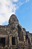 Ancient ruin of the Bayon temple, Angkor Wat Cambodia Royalty Free Stock Photography