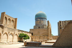 Ancient ruined mosque in Samarkand. Uzbekistan Stock Photography