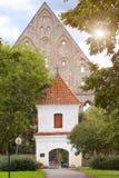 Ancient ruined St. Brigitta convent in Pirita region, Tallinn, Estonia Royalty Free Stock Photos