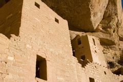 Ancient ruins. In Mesa Verde, Colorado Stock Photo
