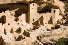 Ancient ruins. Ancient ruind in Mesa Verde, Colorado Stock Photo