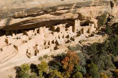 Ancient ruins. Ancient ruind in Mesa Verde, Colorado Stock Image