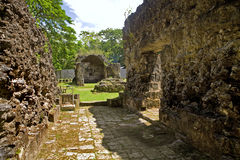 Philippines - Ancient Ruins Royalty Free Stock Photos