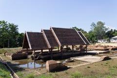 Ancient Ruins. At Wiang Kum Kam in Chiangmai Thailand Royalty Free Stock Image