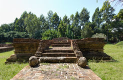 Ancient Ruins. Old Historical Ruin at Wiang Kum Kam in Chiangmai, Thailad Royalty Free Stock Photos