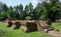 Ancient Ruins. Old Historical Ruin at Wiang Kum Kam in Chiangmai, Thailad Stock Images