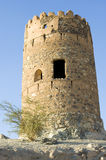 Ancient ruins at Al Mudayrib in Oman Stock Photography