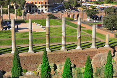 Ancient Ruins - Arcs and Columns Stock Images
