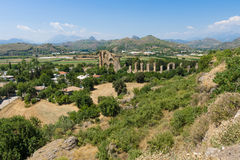 Ancient ruins of Aspendos. Royalty Free Stock Photography