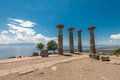 The ancient ruins of Assos Stock Photos