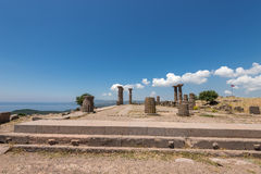 The ancient ruins of Assos Stock Photo