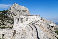 Free Ancient Ruins At Termessos Or Thermessos In The Taurus Mountains, Antalya Province, Turkey. Termessos Stock Image - 193564401