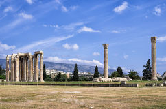 Ancient ruins in Athens, Greece Stock Images