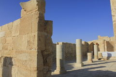 Ancient Ruins of Avdat, the Nabatean City Royalty Free Stock Image