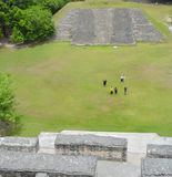 Ancient ruins in Belize Stock Photography