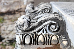 Ancient Ruins And Broken Pieces From Pergamon Stock Photos