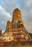 Ancient ruins of Buddhist temple Stock Photo