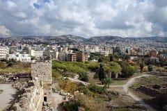 Ancient city of Byblos, Mediterranean coast, Lebanon Royalty Free Stock Photos