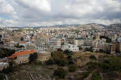 Ancient city of Byblos, Mediterranean coast, Lebanon Royalty Free Stock Images