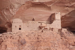 Ancient Ruins in Canyon de Celly royalty free stock image