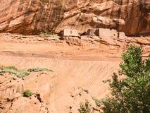 Ancient ruins in Canyon de Chelly Stock Photos