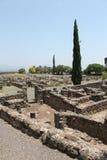 Ancient Ruins at Capernaum Royalty Free Stock Photography