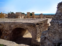 Ancient ruins in Carthage Stock Photos