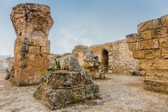 Ancient ruins of Carthage, Tunisia Stock Images