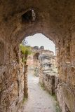 Ancient ruins of Carthage, Tunisia Stock Photos