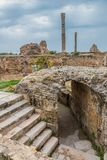 Ancient ruins of Carthage, Tunisia Stock Photo