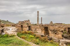 Ancient ruins of Carthage, Tunisia Stock Photography