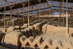 Ancient ruins of Chan Chan - Trujillo, Peru Royalty Free Stock Photography