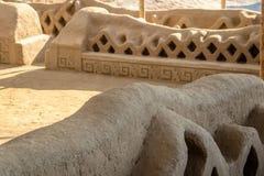 Ancient ruins of Chan Chan - Trujillo, Peru Royalty Free Stock Images