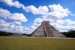 Ancient ruins of chichen itza Stock Image