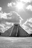 Ancient ruins of chichen itza Royalty Free Stock Image
