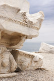 Ancient ruins - detail Royalty Free Stock Photos