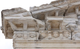 Ancient ruins - detail Royalty Free Stock Photo