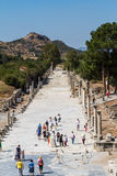 Ancient Ruins of Ephesus Stock Photography