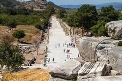 Ancient Ruins of Ephesus Royalty Free Stock Image