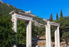 Ancient ruins in Ephesus Turkey Stock Image