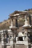 Ancient ruins in Ephesus Turkey Royalty Free Stock Image