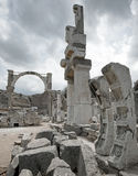 Ancient ruins in Ephesus, Turkey Stock Image