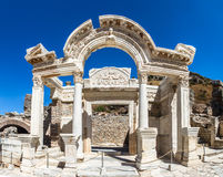 Ancient Ruins of Ephesus Royalty Free Stock Photos