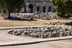 Ancient Ruins of Ephesus Stock Image